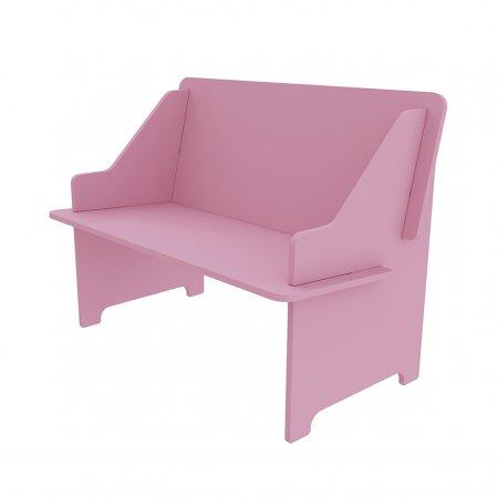 Sofazinho TCIL Twister Rosa 10044145
