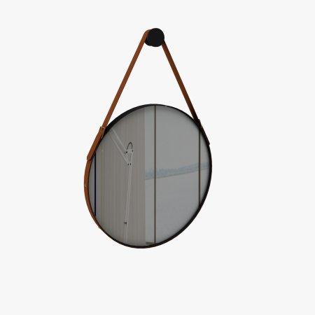 Espelho 60x60 cm Rudnick Onix Preto Fosco 10579029