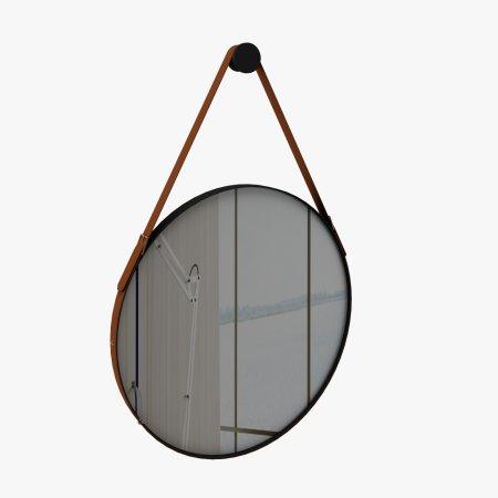 Espelho 70x70 cm Rudnick Onix Preto Fosco 10579030