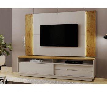 Home Pollo Milano 220 cm Cinamomo com Laca Off White 10598021