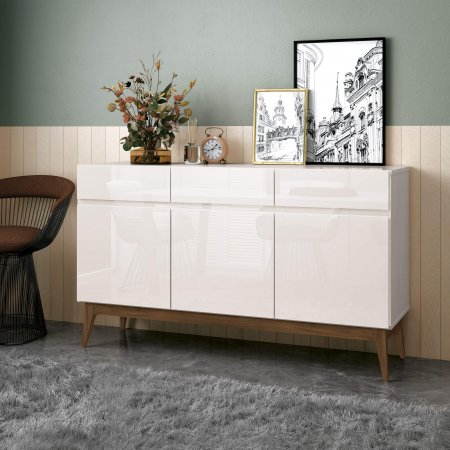 BUFFET CANNES 140CM OFF WHITE