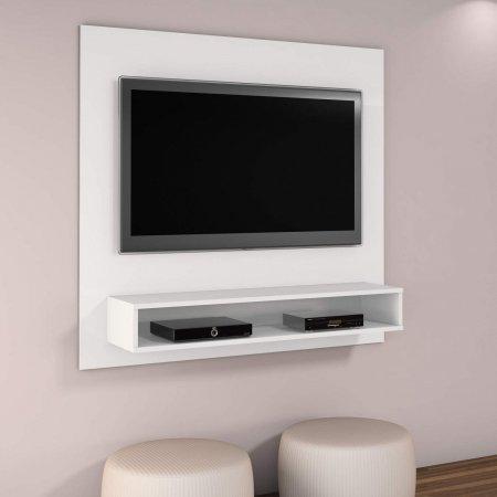 Painel Suspenso para TV 116 cm Branco 10184220