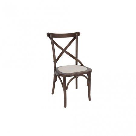 Cadeira Renan Móveis Paris Pinhão e Assento Ráfia 10590002