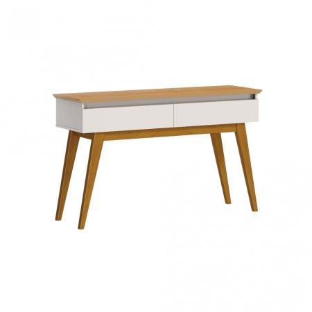 Aparador Classic 136 cm Off White com Nature 10327077