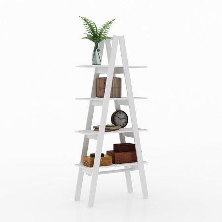 Estante Escada Maior 77 cm Branco 10547097