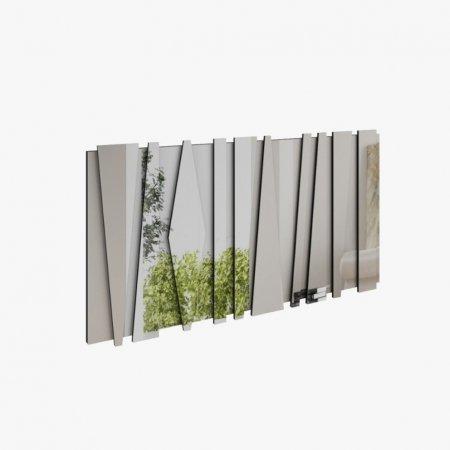 Espelho Rudnick Mônaco 85x162 cm Preto Fosco 10579014