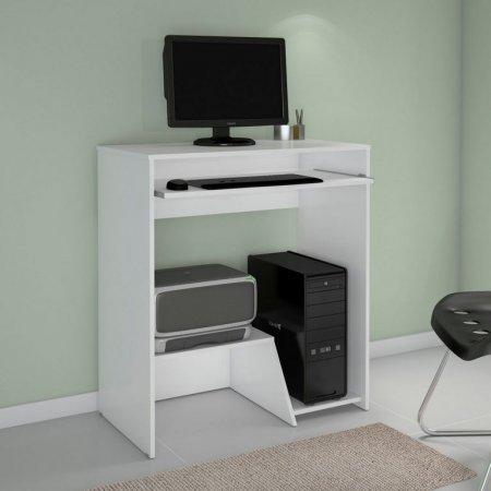 Mesa para Computador Escrivaninha 68 cm Branca 10184084