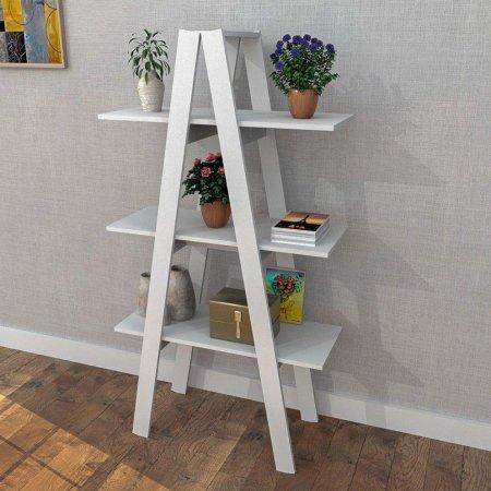 Estante Escada Menor 77 cm Branco 10547095