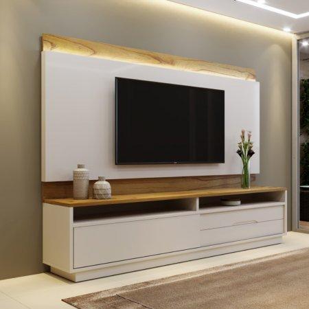 Home Milano+Auguro 220 cm Cinamomo com Laca Off White 10598030