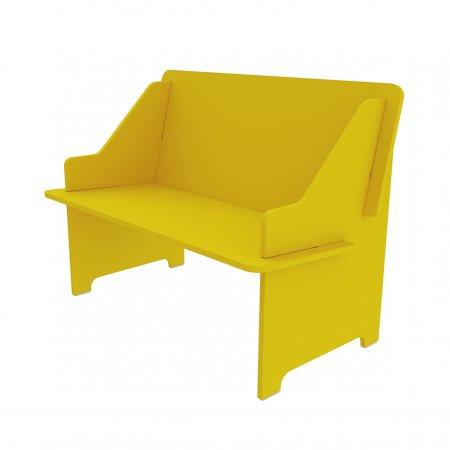 Sofazinho TCIL Twister Amarelo 10044144