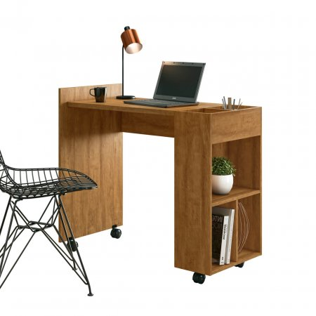 Mesa para Computador Escrivaninha 95 cm Amêndoa 10438040