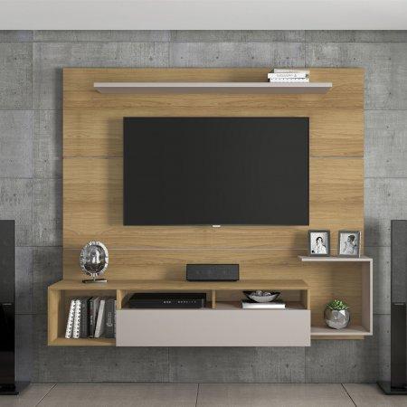 Painel Suspenso para TV 182 cm Noronha com Off White 10184351