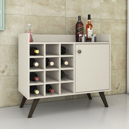 Bar Aparador 89 cm Off White 10547104