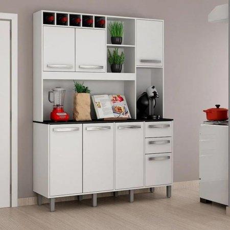 Kit de Cozinha Granada 146,5 cm Branco 10561026