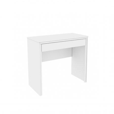 Mesa para Computador Escrivaninha com 1 gaveta Twister Neve