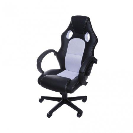 Cadeira Gamer Raptor Preto e Branco 10580039