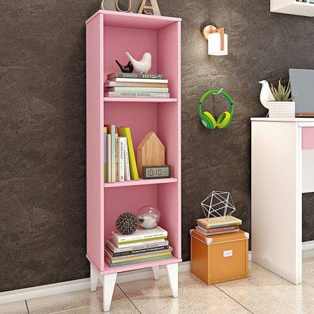 Livreiro TCIL Twister Rosa com Branco 10044139
