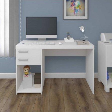 Mesa para Computador Escrivaninha 120 cm Branca 10583014