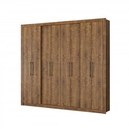 Guarda Roupa com 8 Portas de Abrir 243,6 cm Native 10400103