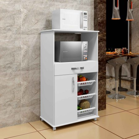 Fruteira Fortaleza 73 cm Branco 10611006