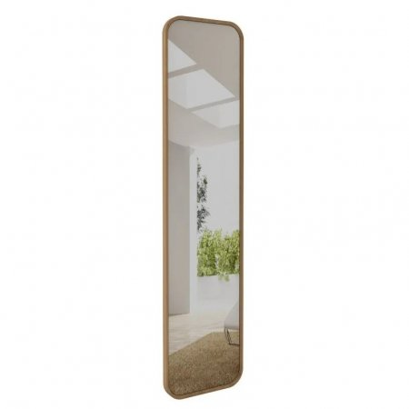 Espelho 210x50 cm Rudnick Palazzo Natural 10579054
