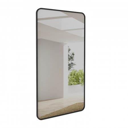 Espelho 210x108 cm Rudnick Palazzo Preto Fosco 10579055