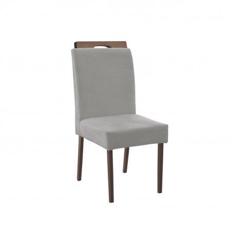 Cadeira Arezzo Tecido Diamond 44 Capuccino 10595080