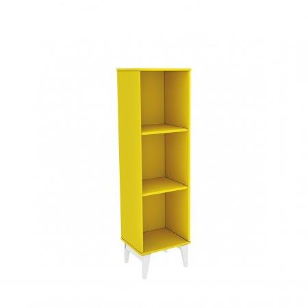Livreiro TCIL Twister Amarelo com Branco 10044138