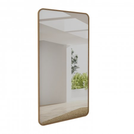 Espelho 210x108 cm Rudnick Palazzo Natural 10579054