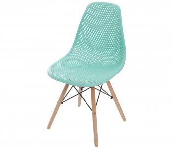 Cadeira Colmeia Tiffany com Base Eiffel de Madeira 10580034