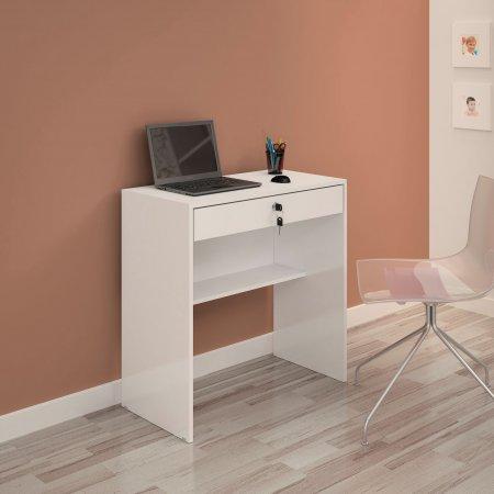 Mesa para Computador Escrivaninha 72 cm Branco 10184090