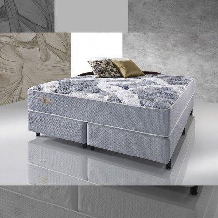 Colchão de Molas com Sommiers Ecoflex High Density II King Size 193x203