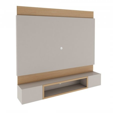 Painel Rudnick Lens 180cm Natural com Off White