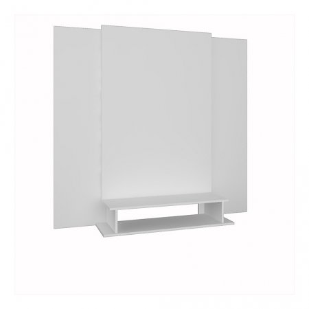 Painel de TV 100x140x160 cm Rimo Setiba Branco 10523323
