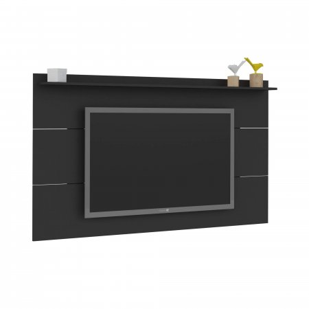 Painel Supenso para TV Slim 180 cm Preto Fosco 10193148