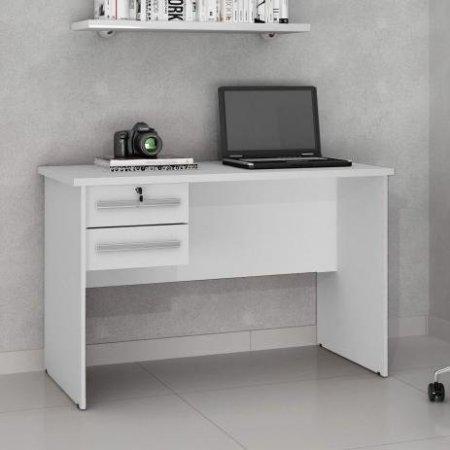 Mesa para Computador Escrivaninha 116 cm Branca 10561021