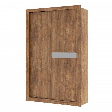 Guarda Roupa com 2 Portas de Correr 130,5 cm Native com Atacama ou Native Flex 10400100