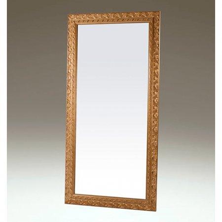 Espelho CCL Dalia 107x205 cm Castanho com Dourado 10215145